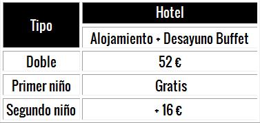 futbolcarrasco precios hoteles