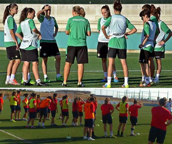 futbol carrasco femenino sevilla real betis pretemporada