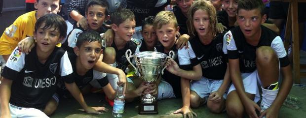 fútbol carrasco málaga campeón benjamín