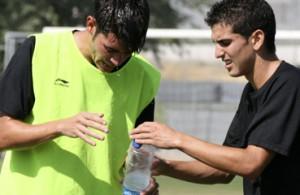 futbolcarrasco hidratación fútbol