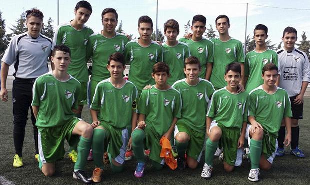 fútbol carrasco cadete prados málaga