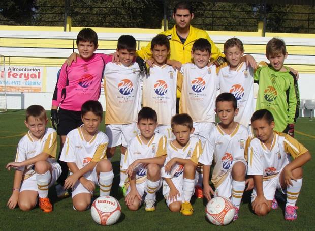fútbolcarrasco benjamin Córdoba C.D Carpio C.F