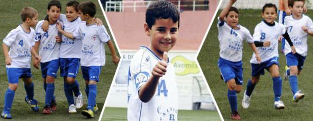 fútbol carrasco prebenjamin málaga iván españa