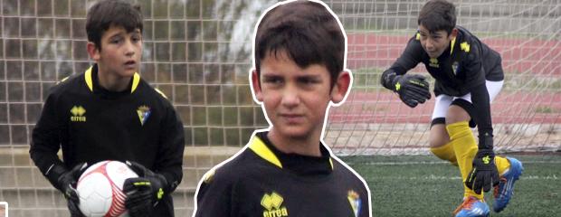 fútbol carrasco cádiz alevín portero campus