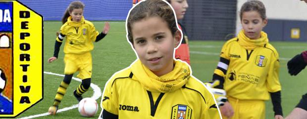 fútbol carrasco lucía femenino malaga benjamin