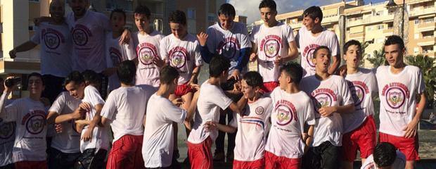 fútbol carrasco infantil romeral málaga