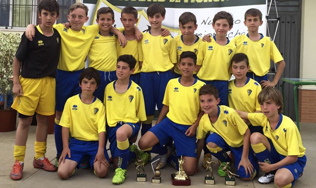 fútbol carrasco cádiz alevín