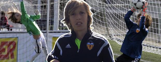 futbolcarrasco laner emery valencia alevin portero