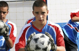 fútbol carrasco campus portero