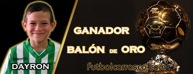 futbolcarrasco balon de oro dayron betis