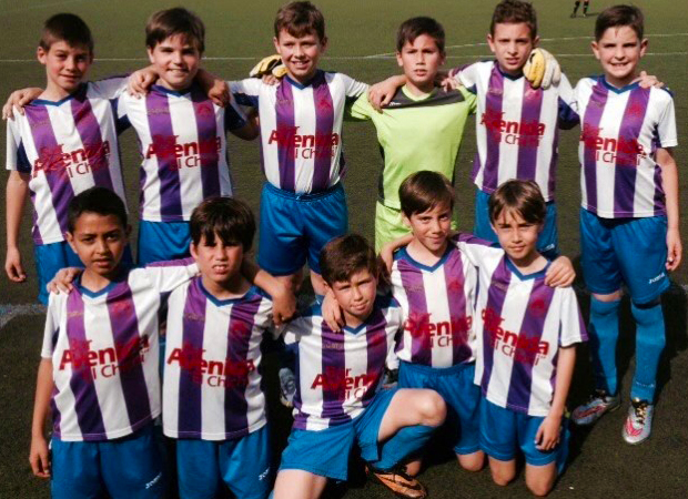 fútbol carrasco benjamín sevilla up viso