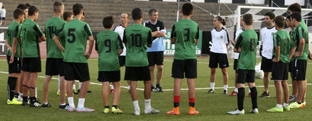 futbolcarrasco gibraltar europa entrenamiento cadete