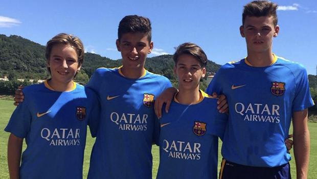 fútbol carrasco fc barcelona nils mortimer cadete