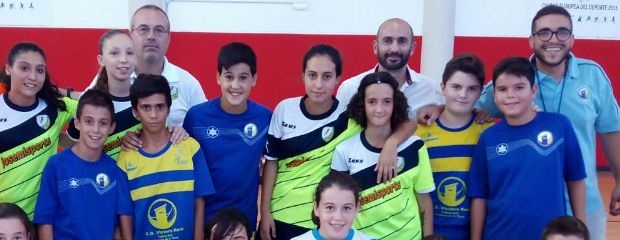 fútbolcarrasco fútbol sala victoria kent fs infantil
