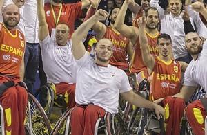 fútbol carrasco españa baloncesto silla ruedas