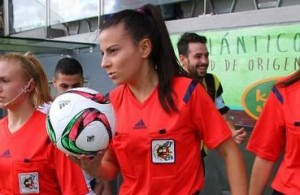 fútbol carrasco, femenino, arbitraje