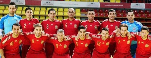fútbolcarrasco fútbol sala selección española