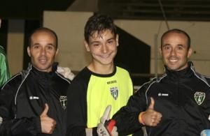 fútbol carrasco entrenamiento portero europa fc gibraltar