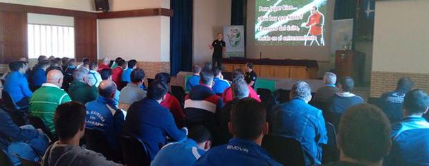 fútbol carrasco conferencia sevilla entrenadores