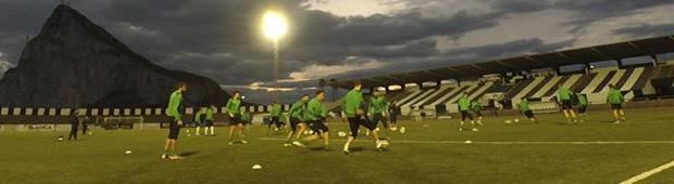 fútbol carrasco europa fc gibraltar entrenamiento training