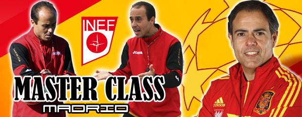fútbol carrasco madrid master class javier miñano inef