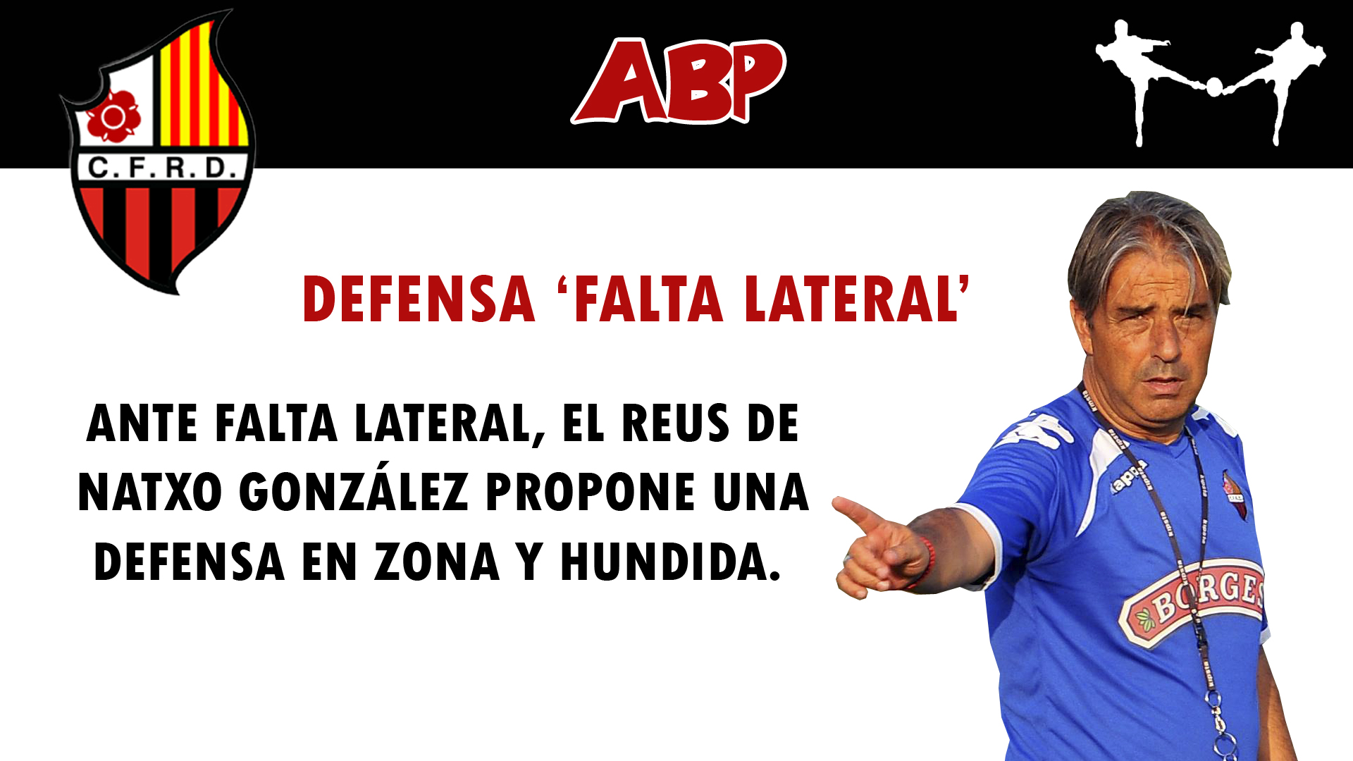 futbolcarrasco reus natxo gonzález falta lateral analisis tactico