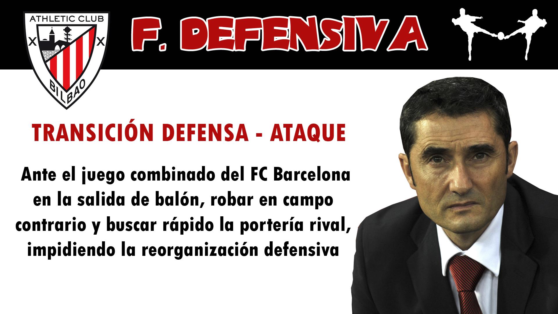futbolcarrasco ath.bilbao valverde fc barcelona analisis táctico presion alta