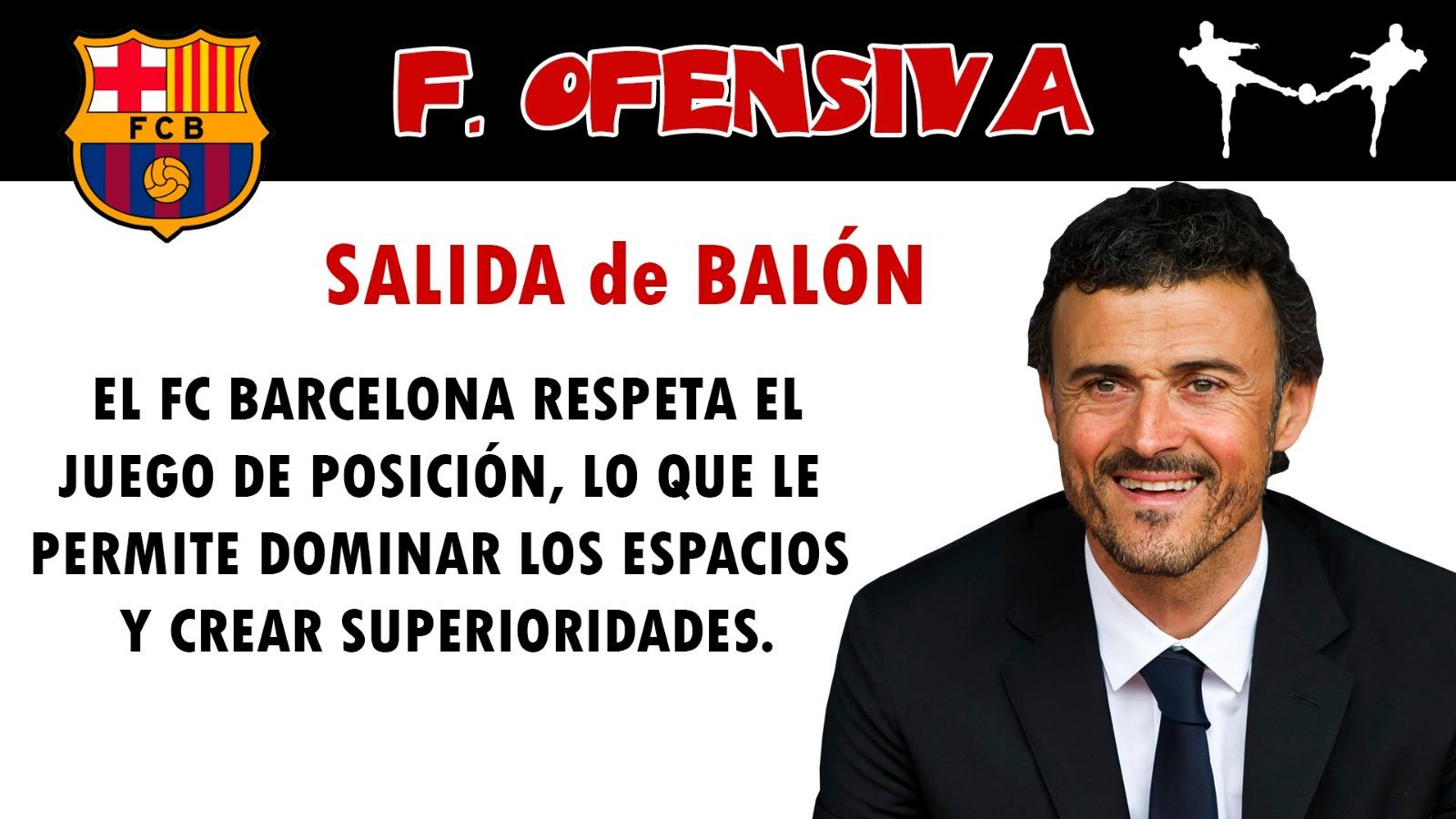 futbolcarrasco análisis táctico fc barcelona luis enrique salida de balón