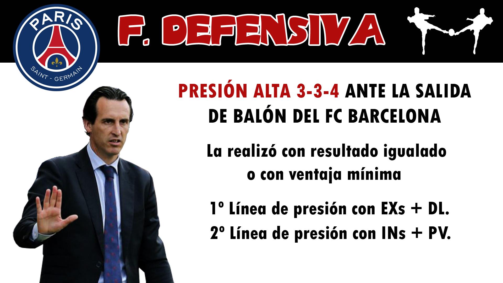 futbolcarrasco unai emery psg champions league fc barcelona luis enrique