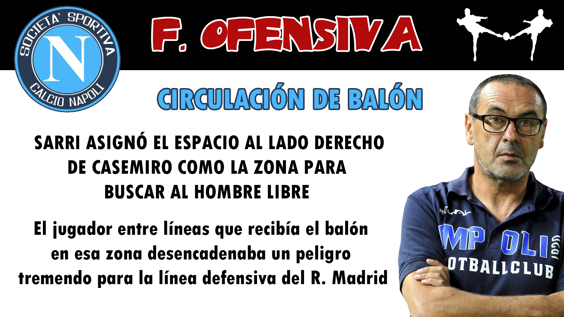 futbolcarrasco napoli champions analisis tactico real madrid zidane