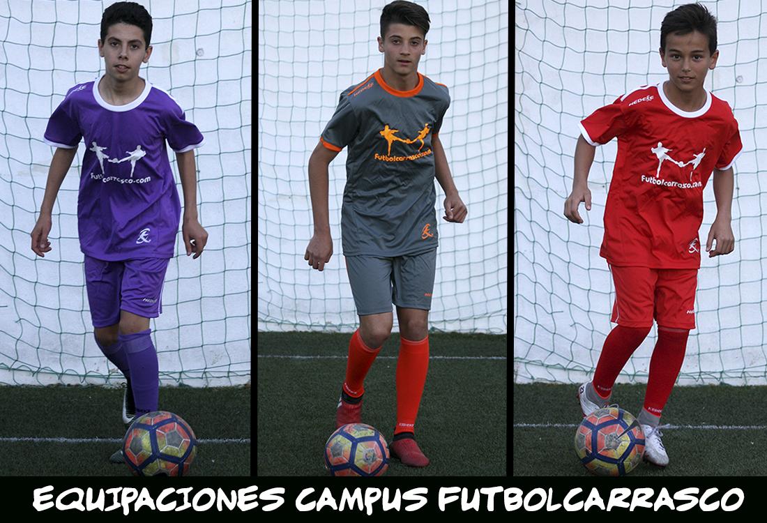 equipaciones campus élite fútbol carrasco