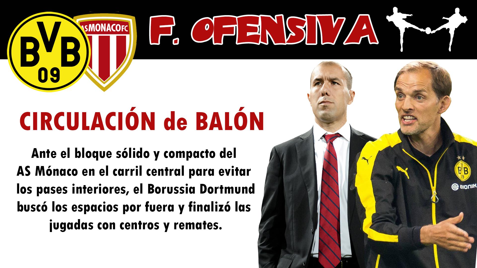 futbolcarrasco borussia dormunt champions league monaco entrenadores tuchel jardim
