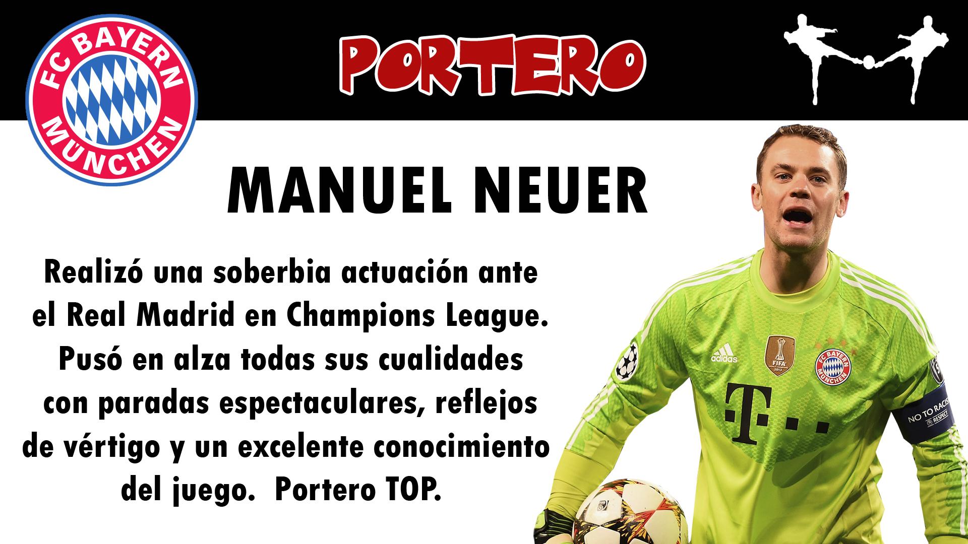 futbolcarrasco bayern munich manuel neuer portero